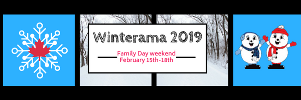 Winterama 2019 Family Day weekend February 2019