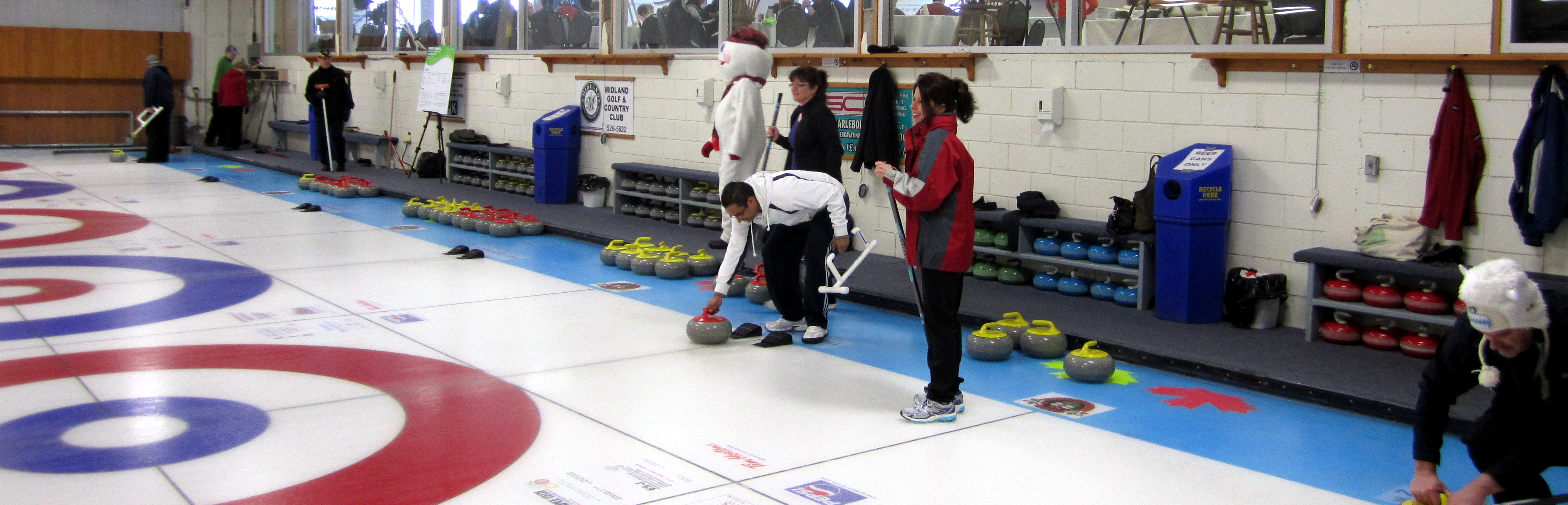 People Curling