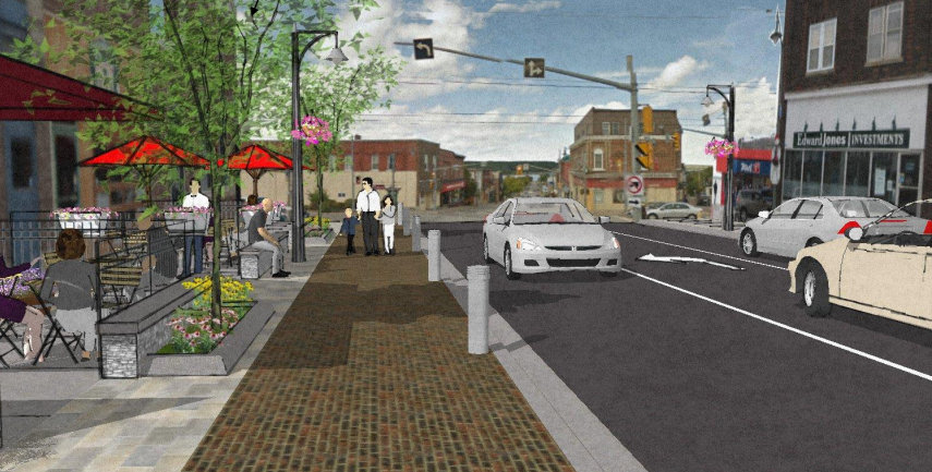 Main Street Reconstruction Design
