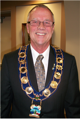 Mayor Gerry Marshall