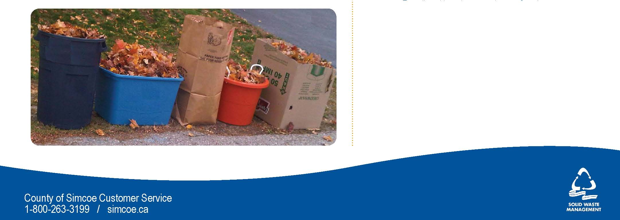 yard waste program info